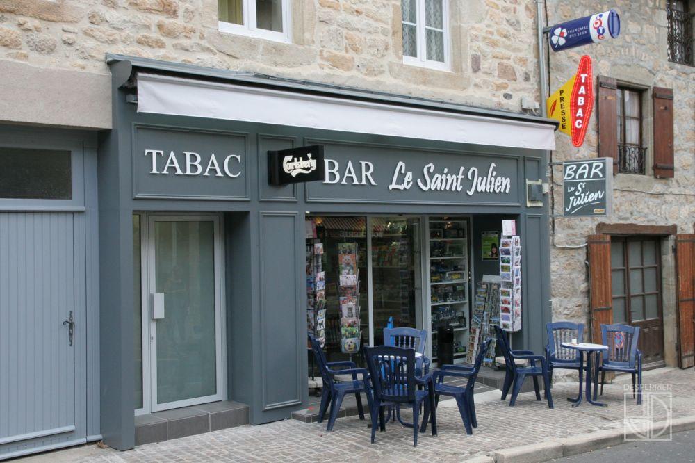 Cr ation et agencement de magasins tabac presse desperrier - Construire un comptoir de bar ...
