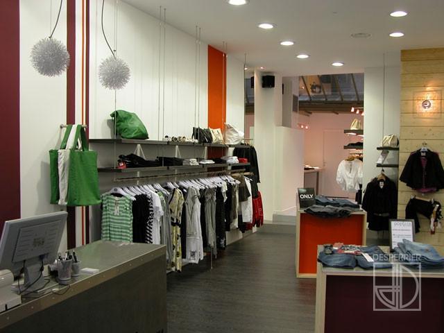 cr ation et agencement de magasins pr t porter et lingerie desperrier. Black Bedroom Furniture Sets. Home Design Ideas