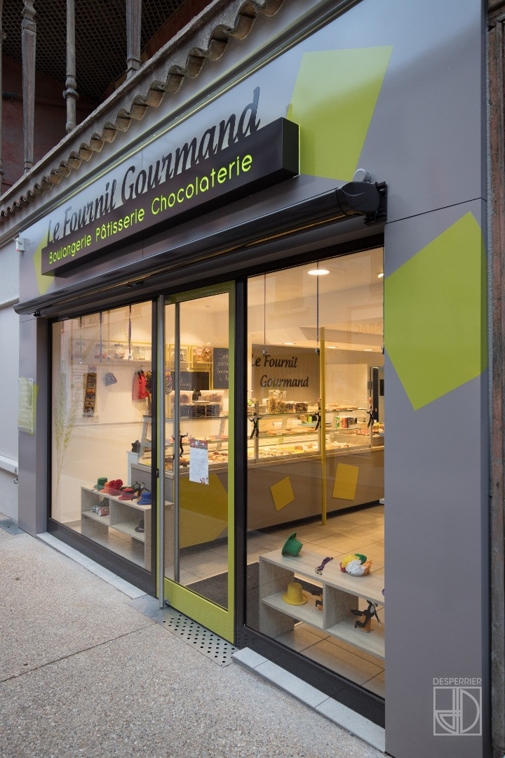Agencement magasin - Boulangerie Pâtisserie, Fleurie - DESPERRIER