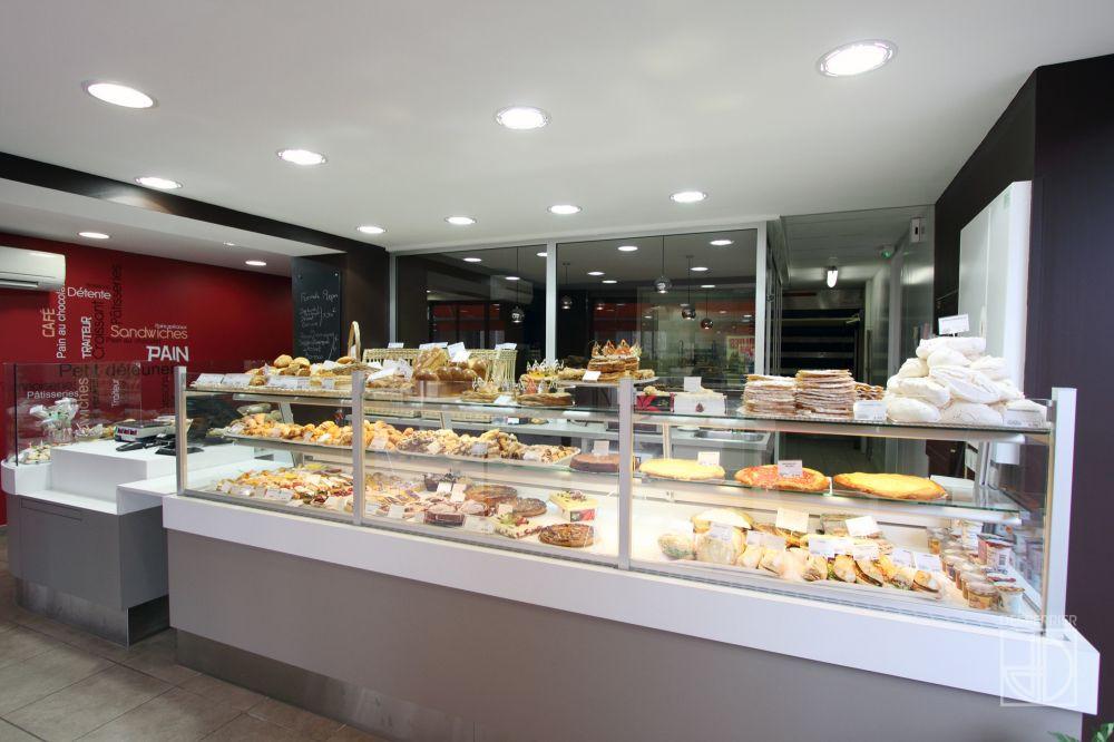 Cr ation et agencement de magasins boulangerie - Pate de rebouchage placo ...