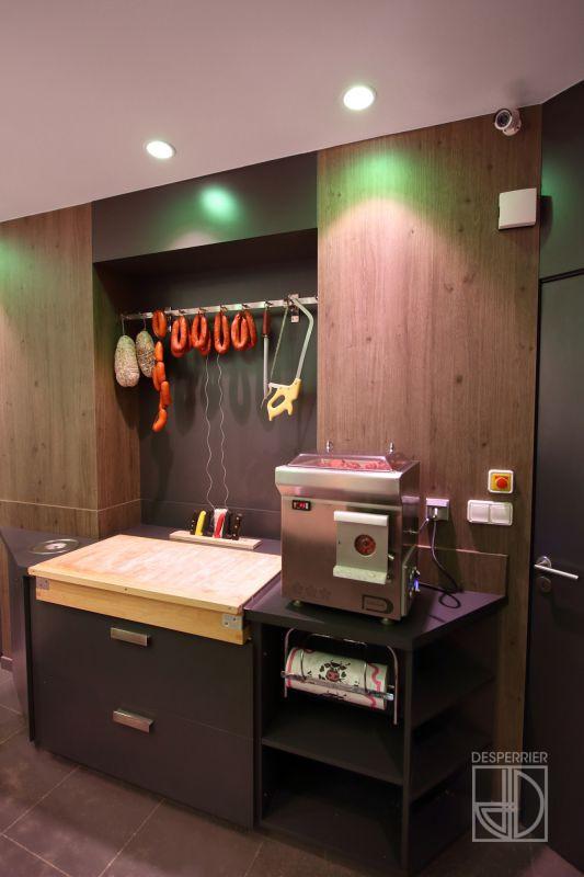 cr ation et agencement de magasins boucherie charcuterie traiteur desperrier. Black Bedroom Furniture Sets. Home Design Ideas