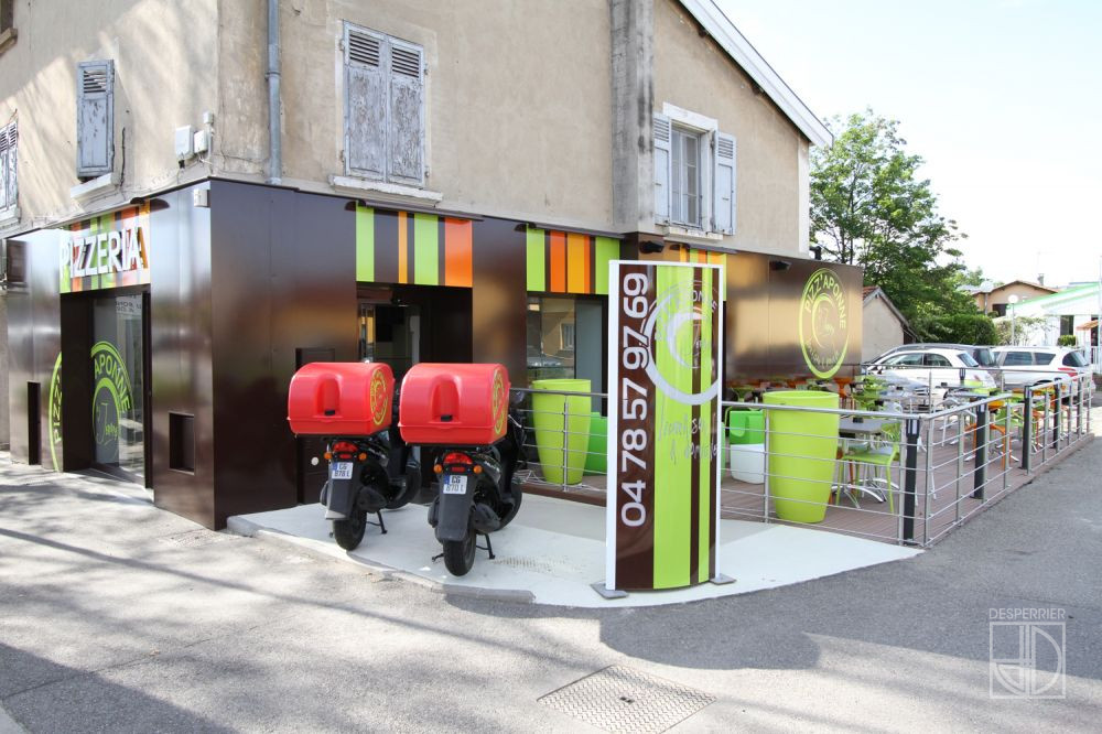 cr ation et agencement de magasins restaurant et brasserie desperrier. Black Bedroom Furniture Sets. Home Design Ideas