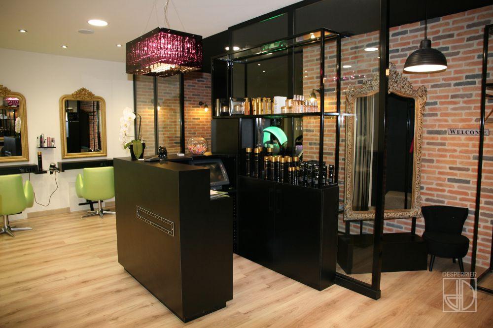 Création et agencement de magasins  Salon de coiffure