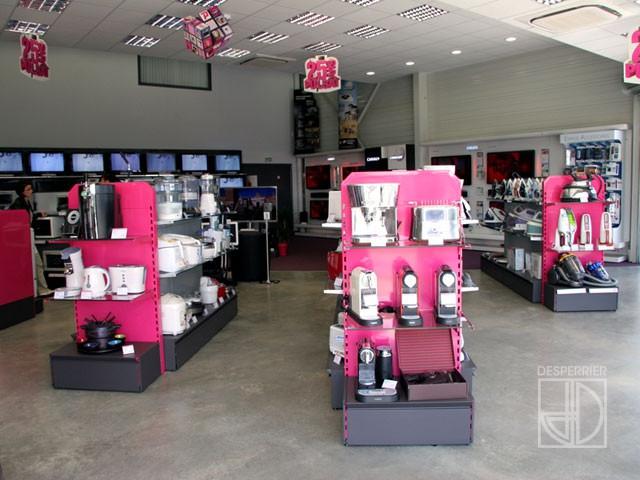 cr ation et agencement de magasins autres desperrier. Black Bedroom Furniture Sets. Home Design Ideas