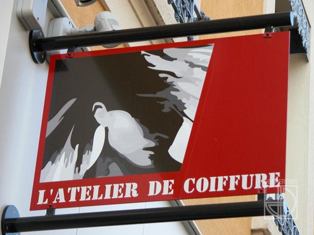 Cr ation et agencement de magasins salon de coiffure - Salon de coiffure villefranche sur saone ...