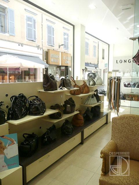 Cr ation et agencement de magasins chaussure et maroquinerie desperrier - Magasin meuble bourg en bresse ...